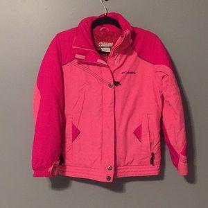 Columbia girls winter jacket size 10/12